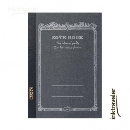 A5 Apica CD cuaderno negro rayado