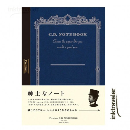 A4 apica Premium CD Silky cuaderno Rayado