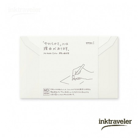 Envelopes for MD Letter Pad Cotton Horizontal Ruled Lines