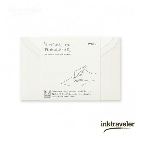 Sobres para MD Paper Cotton papel de carta rayado