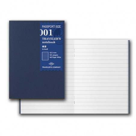 001 TN passport 001 Refill Lined Notebook Basic Item MD paper