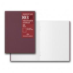003 MD Paper Refill. Blank...