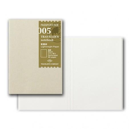 005 TN Passport 005 Refill Lightweight Paper