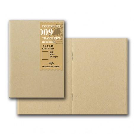 009 Recambio papel Kraft (Tamaño Pasaporte) TRC