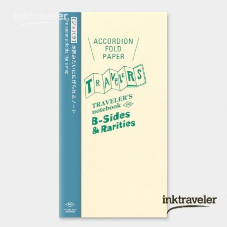 TN Refill Accordion Fold Paper regular size