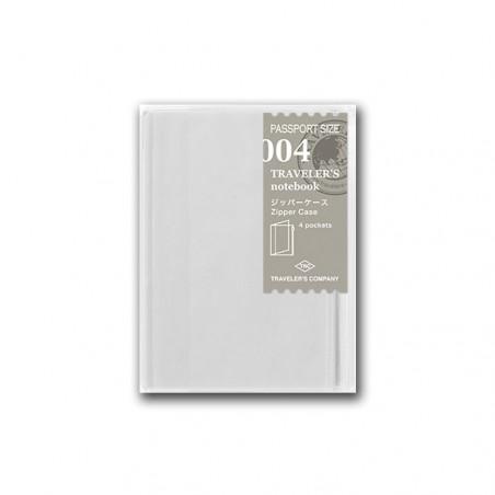 004 Funda con cierre (Tamaño pasaporte) TRC