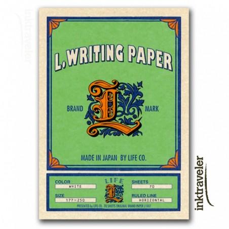 L paper life pad rayado
