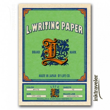 L paper life ruled pad