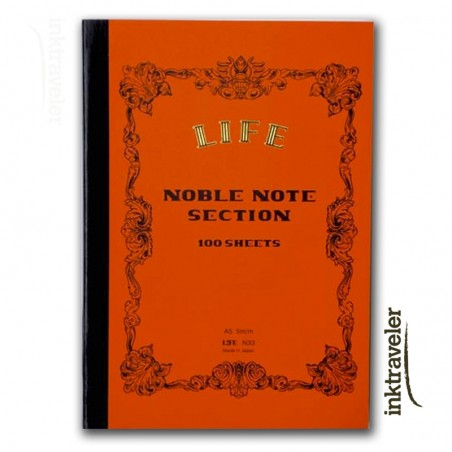 A5 Life Noble Note notebook Section