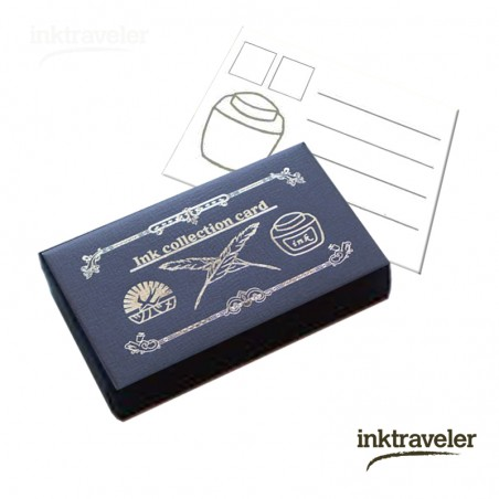 Tsubame ink collection cards Navy