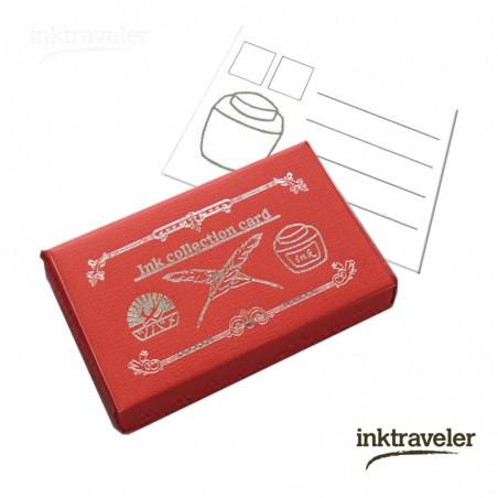 Tsubame tarjeta para coleccionar tintas Rojo