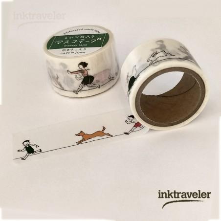 goat x masco washi tape perforado - Carrera