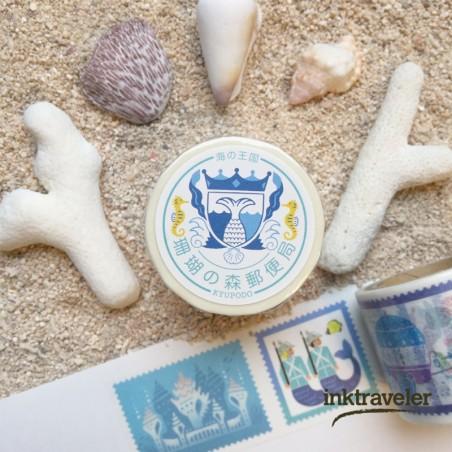 KYUPODO POST OFFICE WASHI TAPE - SEA KINGDOM