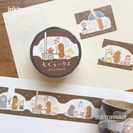 kyupodo washi tape - mogura house