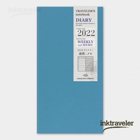 Preorder. Refill 2022 Weekly + Memo (Regular Size)