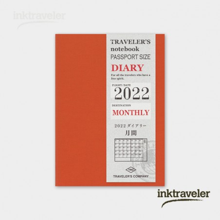 preorder TRC Refill 2022 Monthly (Passport Size)
