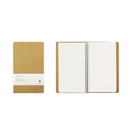 TRC Spiral Ring notebook A6 MD paper white Polar Bear
