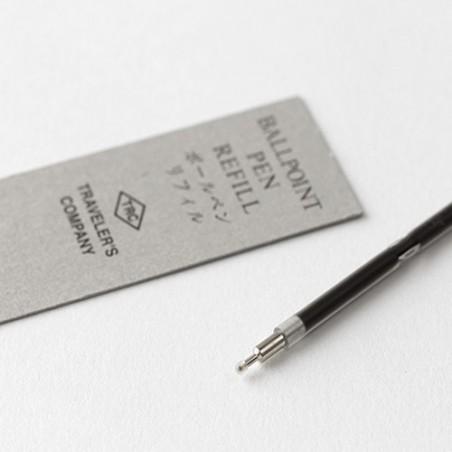 TRC Recambio tinta negra Bolígrafo latón