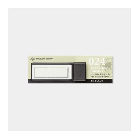 024 Portalápices Adhesivo Negro TRC