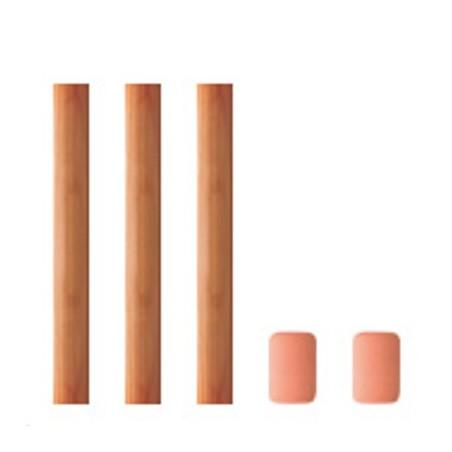 TRC Paquete 3 lápices de repuesto con 2 gomas de borrar