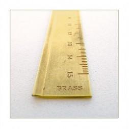 TRC regla latón milimetrada...
