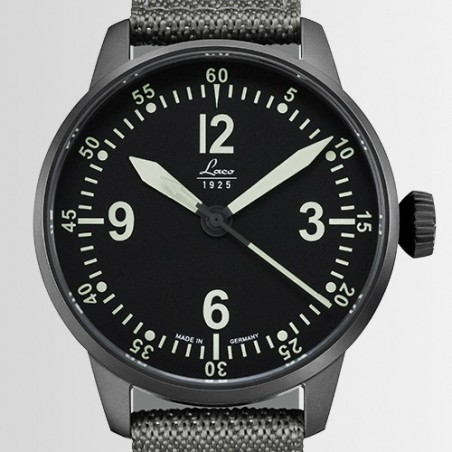 Laco 42mm Pilot C. Automatic. Bell X1