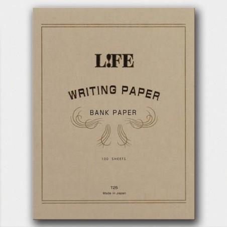A4 Bank Paper LIFE pad