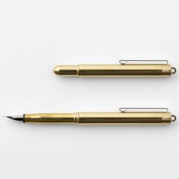 Brass Travel Fountain Pen
