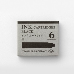 TRC 6 Cartridges Box Black