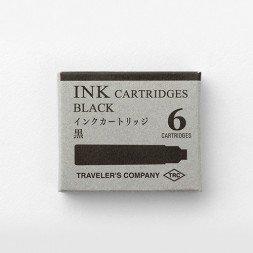 Caja 6 Cartuchos Midori Negro