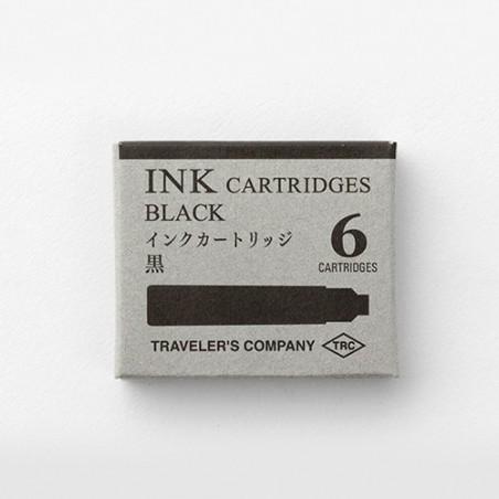 TRC 6 Cartridges Box Black