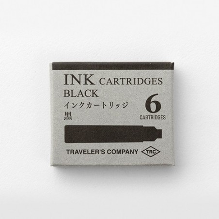 TRC Caja 6 Cartuchos tinta Negro