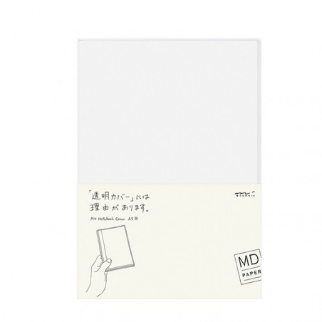 A5 Midori Cover Clear for MD notebook