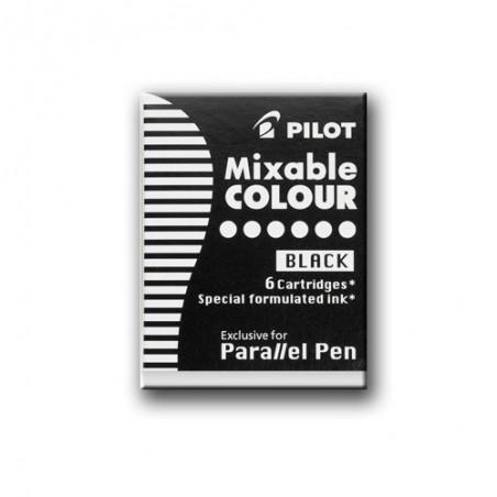 Cartuchos tinta Negra Parallel