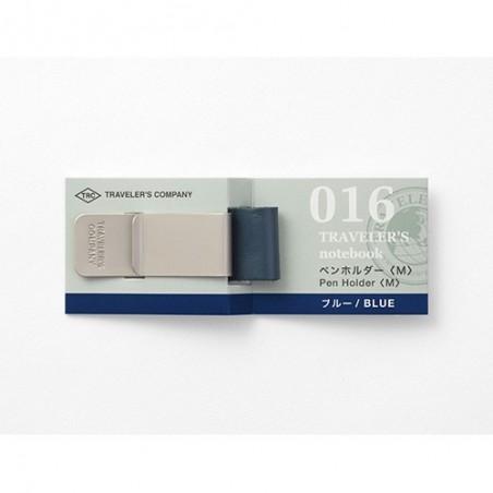 016 Portalápices Azul M (Tamaño original y pasaporte) TRC