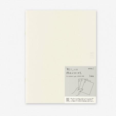 A5 midori pack 3 Notebook Light ruled MD paper