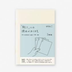 A5 midori pack 3 Notebook...