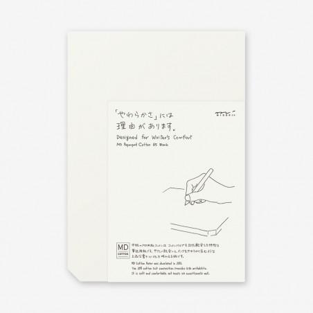 A5 Midori Cotton plain pad