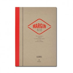 A5 Life Margin plain Notebook