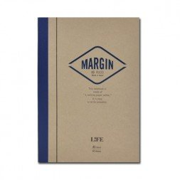 A5 Margin Notebook- Ruled