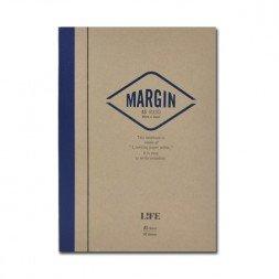 A5 Margin Notebook- Rayado