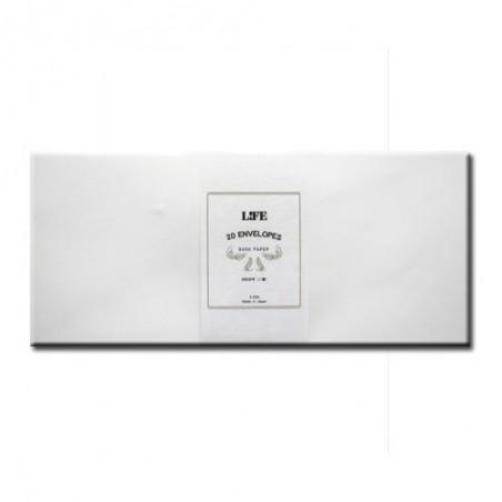 White envelopes a4 bank paper life