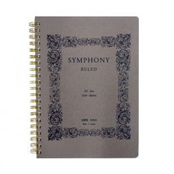 A5 Symphony 100 Págs. Rayado